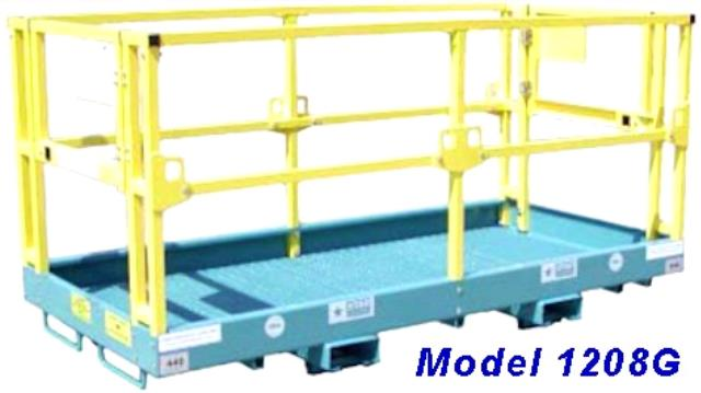 Where to find Forklift Work Platform 4  x 10 in Pasco