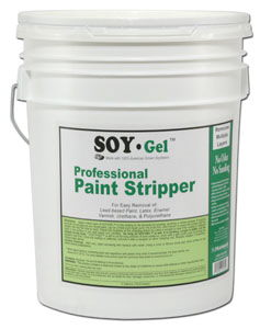 Concrete Stripper And Soy Gel